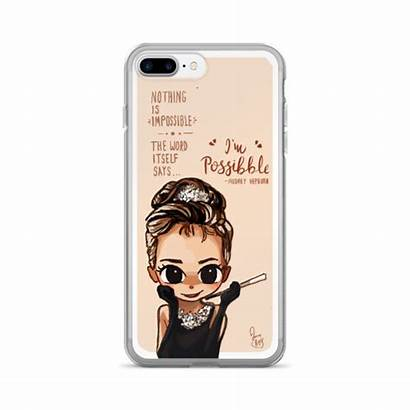 Iphone Hepburn Audrey Case Joey Chibi