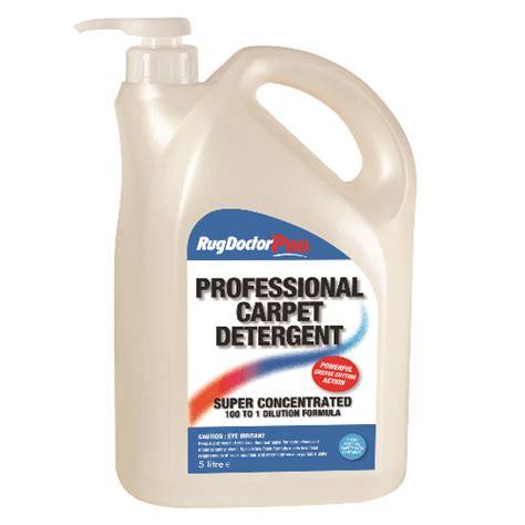 rug doctor soap professional carpet detergent 5 litre 4 bottles per