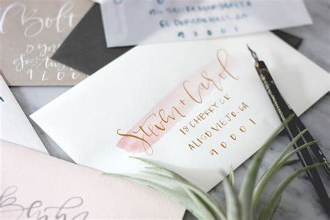 Learn How To Address Wedding Invitations