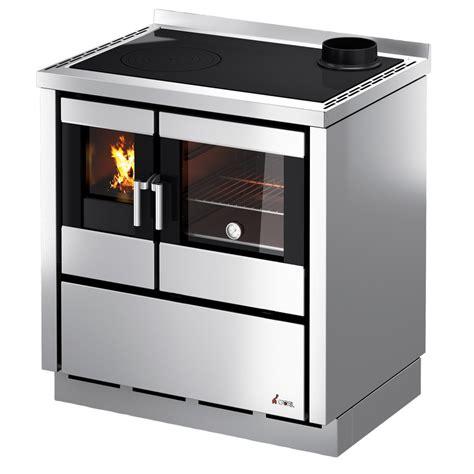 hotte de cuisine professionnelle cuisiniere à bois cadel kook 80