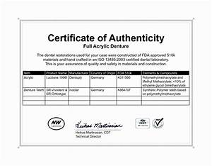 free certificate of authenticity template download gallery With free printable certificate of authenticity templates