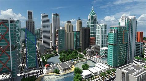 minecraft map ville moderne minecraft top 10 des villes modernes