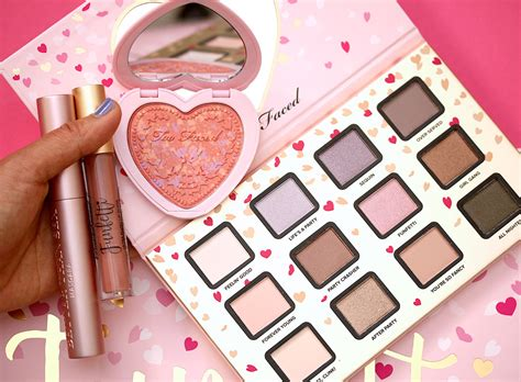 blush on eyeshadow the faced funfetti set an hsn exclusive coming nov
