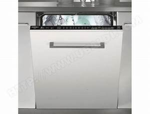Lave Vaisselle Tout Integrable : rosieres rlf99 lave vaisselle tout integrable 60 cm ~ Nature-et-papiers.com Idées de Décoration