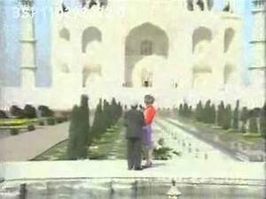 Princess Diana at the Taj Mahal in India YouTube