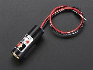 Laser Diode - 5mw 650nm Red Id  1054