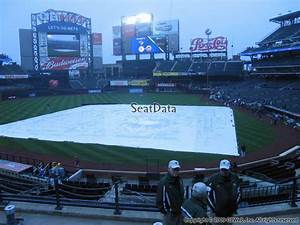 Citi Field Seating Chart With Row Numbers Citi Field Section 119 Rateyourseats Com