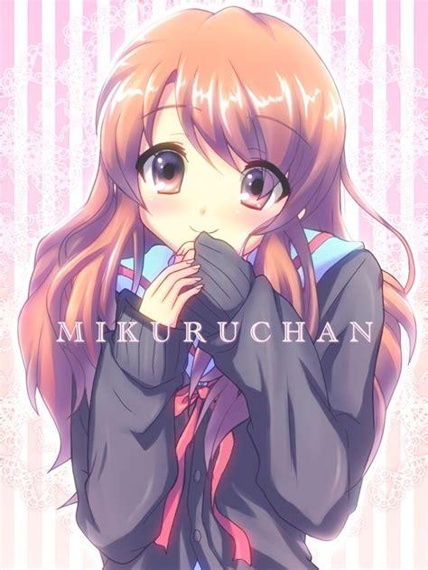 melancholy  haruhi suzumiya mikuru asahina