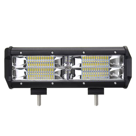truck led light bar 8d 7 inch 216w led light bar flood spot combo road car