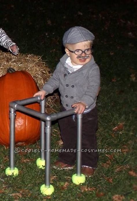 Cutest Little Old Man Costume for a Toddler | Halloween costumes 100th day and Halloween