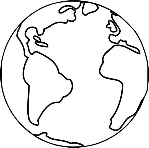 earth coloring page earth globe world coloring page wecoloringpage