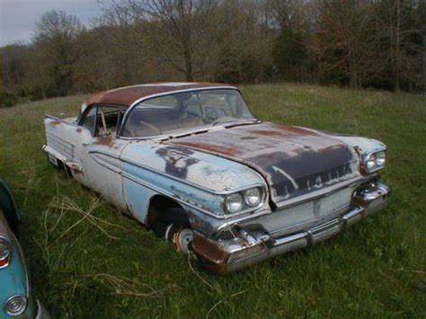 1958 Oldsmobile 88 2dr Ht-parting Out For Sale On Car And
