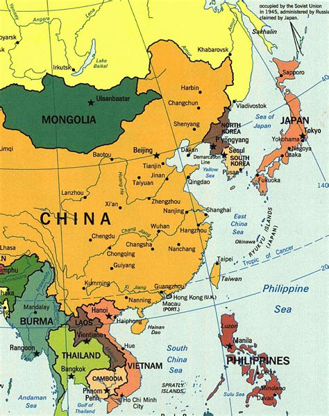 maps  asia