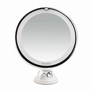 Miroir Avec Lumière Pour Maquillage : achat auxent miroir de maquillage led 7x agrandissant ~ Zukunftsfamilie.com Idées de Décoration