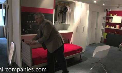 space saving furniture beds  transforms bed
