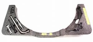 Trunk Spare Tire Tool Kit Jack Lug Wrench Kit 04