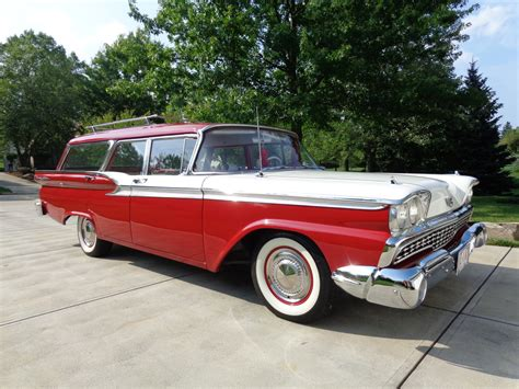 ford usa 1959 country sedan 4door station wagon the all american classic cars 1959 ford fairlane 4 door