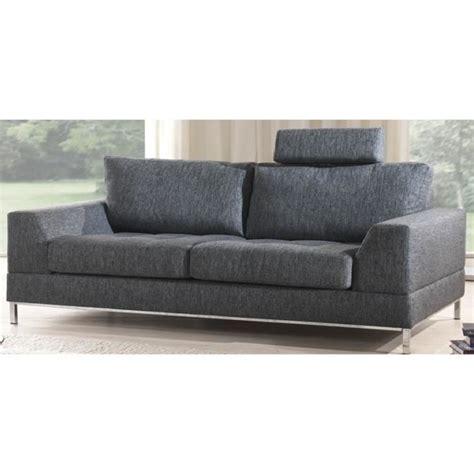 canape gris 3 places canap 233 3 places dagar n3 en tissus gris achat vente canap 233 sofa divan tissu coton