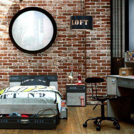 deco chambre industrielle une chambre de garçon esprit loft loft et simple