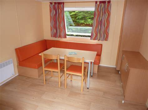 banquette cuisine location mobil home irm mercure 2 chambres 4 5 personnes 29m tarifs semaine de 198