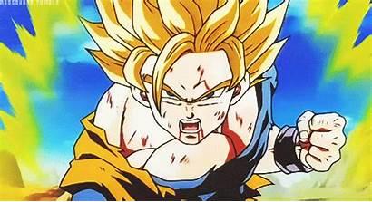 Goku Dragon Ball Dbz Gifs Vegeta Ssj