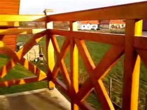 balkongeländer holz selber bauen balkongel 228 nder aus holz