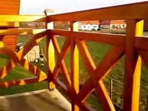 Balkongeländer Holz Selber Bauen : balkongel nder aus holz youtube ~ Lizthompson.info Haus und Dekorationen