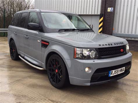 range rover sport hse tdv6 3 0 auto autobiography upgrade in nardo grey in oldham