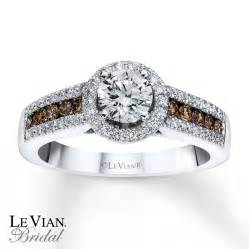 levian chocolate diamonds 1 ct tw engagement ring 14k gold - Chocolate Diamonds Wedding Rings