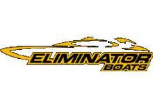 Eliminator Boats Logo by Custom Boat Trailers