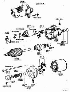 Toyota Tercel Clutch Sub-assembly  Starter  Usa  Engine