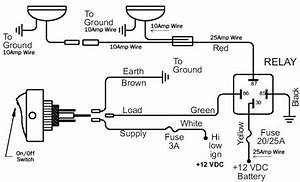 Wiring Diagram Spotlight Relay