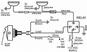 12v Car Spotlight Wiring Diagram 26060 Netsonda Es