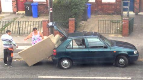 canap voiture rentrer un canapé dans une voiture