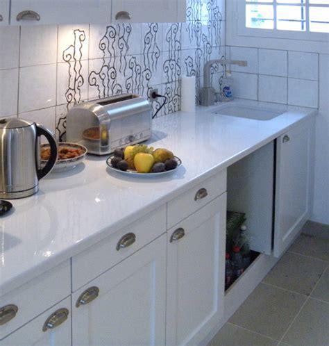 evier design cuisine plan de travail en de lave émaillée marbrerie retegui