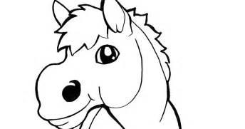 Coloring Kuda by And Lore Coloring Page Mewarnai Kuda