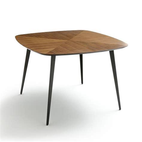 la redoute table cuisine table vintage marquetée 4 personnes watford noyer la redoute interieurs la redoute