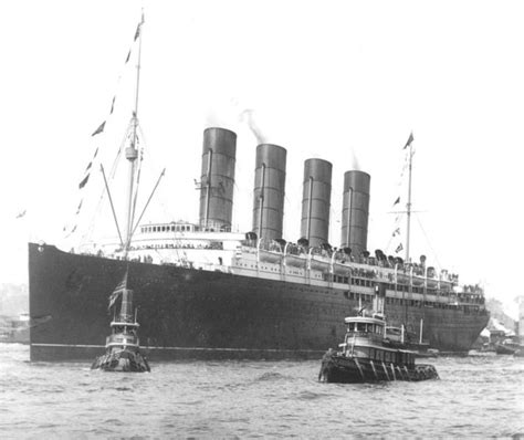when did the lusitania sink sinking of lusitania unsolved mysteries in the world