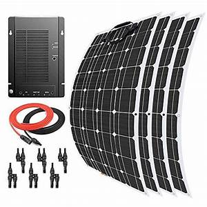 Giosolar 400 Watt 12 Volt Flexible Monocrystalline Solar