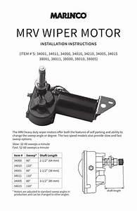 Afi Wiper Motor Installation Instructions