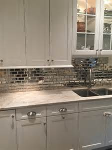 mirrored kitchen backsplash best 25 mirrored subway tiles ideas on small powder rooms half baths and powder