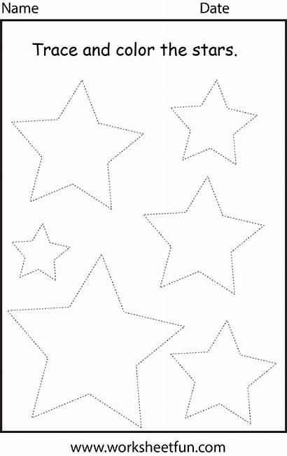 Shape Worksheet Tracing Preschool Worksheets Shapes Activities