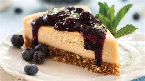 vegan dessert recipe blueberry cheesecake