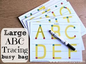 5 dry erase busy bag activity bag ideas busy bags With dry erase letter tracing