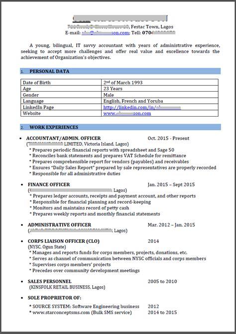 My Cv by Help Review My Cv Career Nigeria
