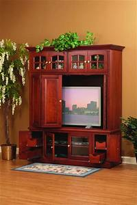 flat screen entertainment center Amish Monterey Entertainment Center