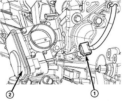 electronic throttle control 1999 isuzu hombre navigation system 2007 jeep compass tps removal repair guides components systems crankshaft position sensor
