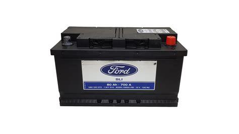 autobatterie ford original ford batterie starterbatterie autobatterie 12v 80ah 700a 1917574 ebay