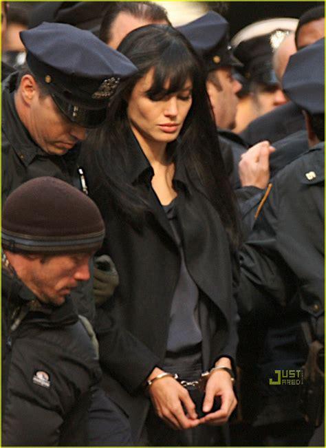 angelina jolie arrested photo  angelina