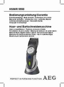 Aeg R 5550 Electric Shaver   Razor Download Manual For Free